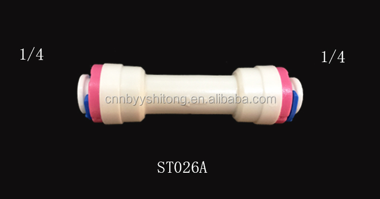 Plastic fittings stem in tee adapter push in fittings