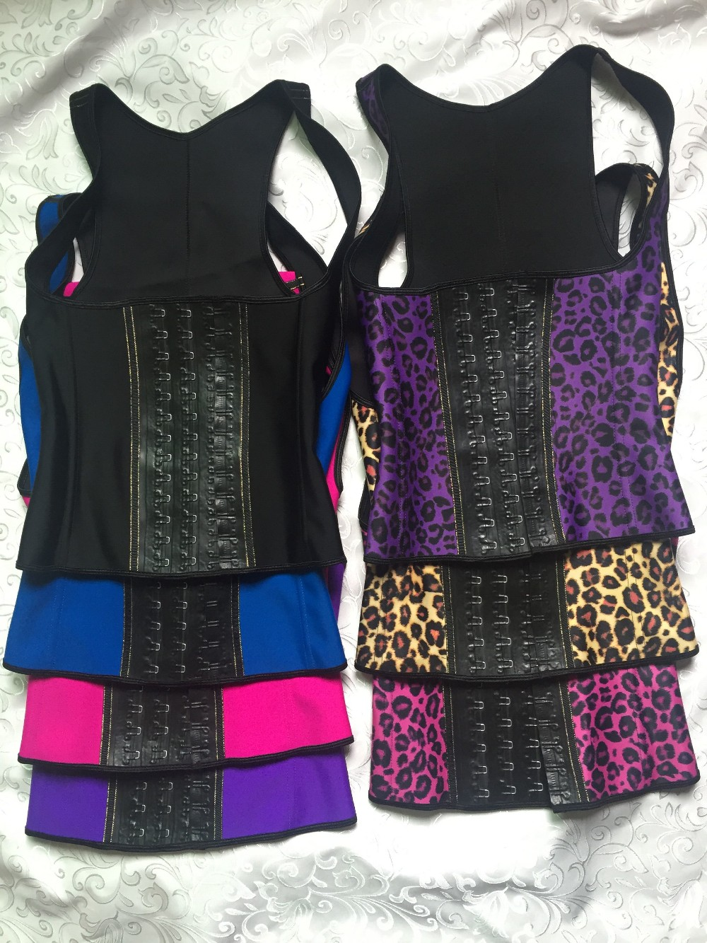 47dd1e5c1 Hot Waist Training Corsets Female Body Shaper Vest Waist Trainer Corsets  Slimming Belt Latex Waist Cincher