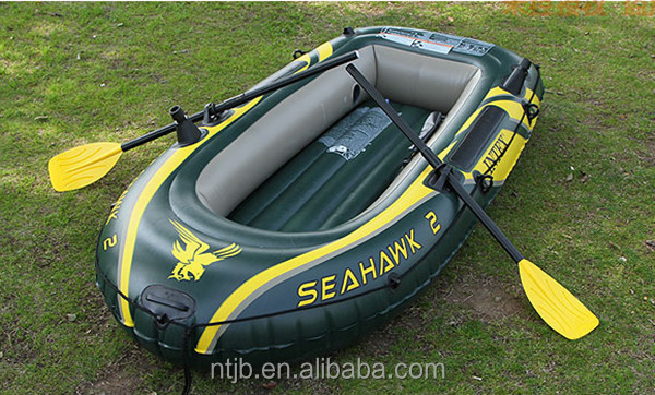 INTEX 68351 400kg SeaHawk Inflatable Boat with outboard motor