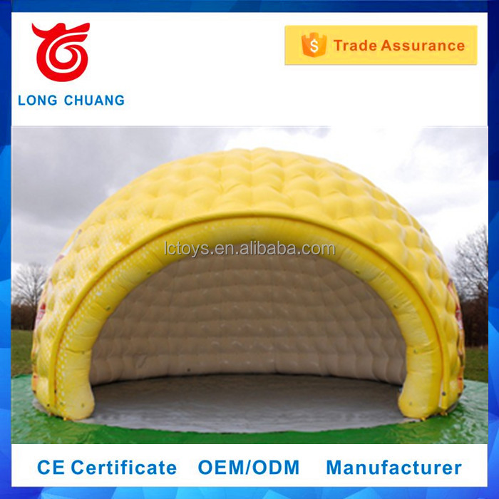 Custom used Semicircle Inflatable Party Tent/Wedding Tent For Sale