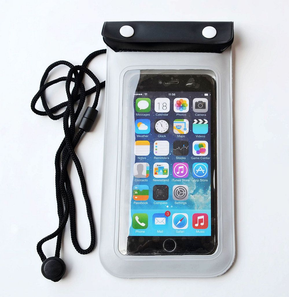 UK Transparent PVC Waterproof Underwater Pouch Bag Case Cover For Mobile Phone
