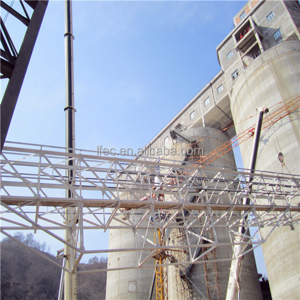 Light prefabricated space truss structure steel trestle