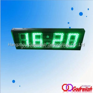 "Godrelish Green 5"" 4 digital Led wall clock countdown clock flipping"