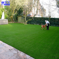 Cheap natural decorative synthetic grass for garden and landscaping artificial grass