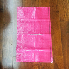 China wholesale new products transparent PP raffia woven laminated potato Bag/Sack for 15kg 25kg 50kg