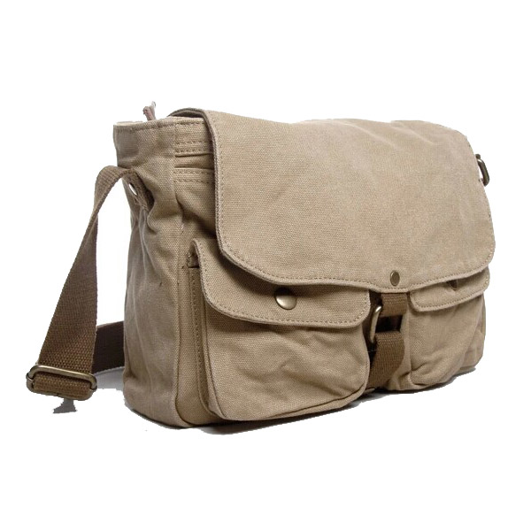 2371 Hot Seller Vintage Messenger Bag Thick Canvas College Boys ...
