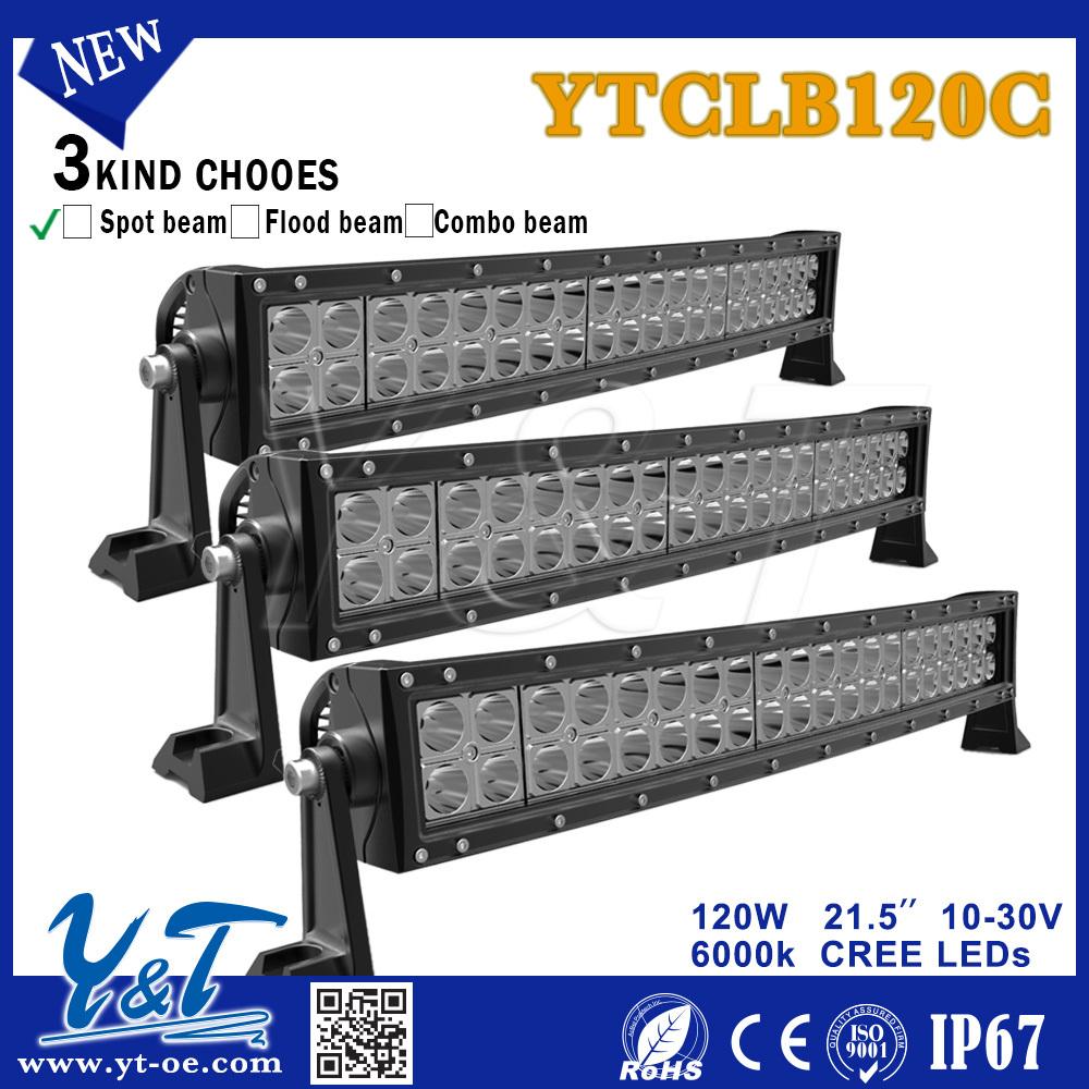 Y&t Ytclb120c Car Led Light Bar Led Auto Lights Autozone 3w Dual ...