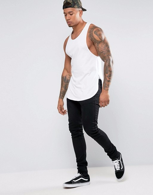 2017 Men Tanks Top Mens Muscle Fit Gym Clothing Bodybuilding Gym