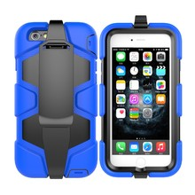 Shockproof Clear Plastic For iPhone6 Case