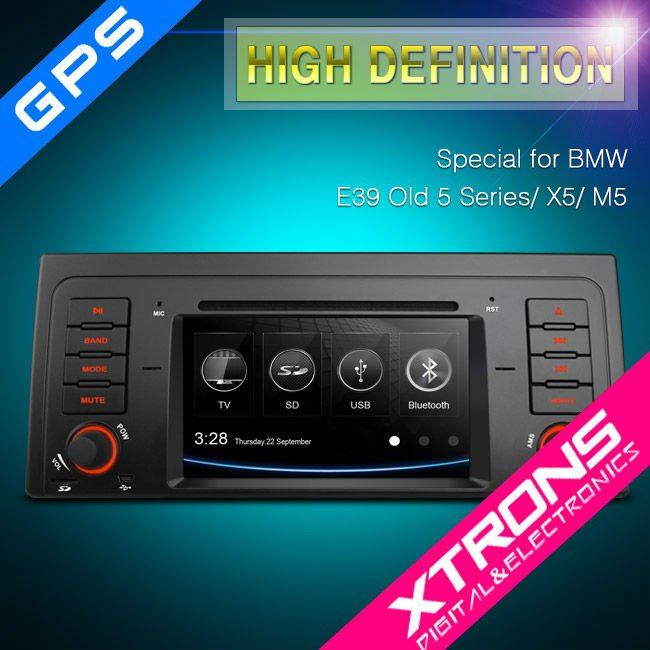 pf7139b xtrons 7 hd touchscreen radio gps ipod bluetooth. Black Bedroom Furniture Sets. Home Design Ideas