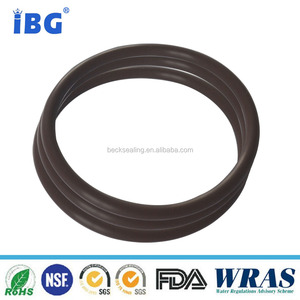brown color FKM/VITON oil resistant rubber o-ring