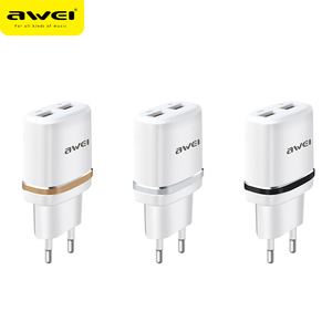 2017 Mobile Accessories Phone Home Ul Certified 5V 2A quick charge 3.0 Micro Mini Dual Usb Wall Charger Manufacturers Wholesales