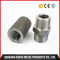 China manufacturer steel bulkhead coupling pipe fittings for industrial use