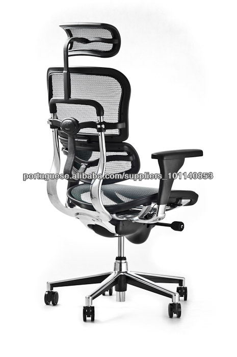 b31e27359 Cadeira Presidente Ergohuman Giratória Ergonômica Anatômica Tela Mesh Frete  Grátis Sul Sudeste Brasil Original Ergohuman