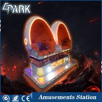 America classic robot design 9d vr cinema with different types of movies and games
