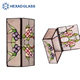 HEXAD wholesale stained glass crystal glass jewelry box
