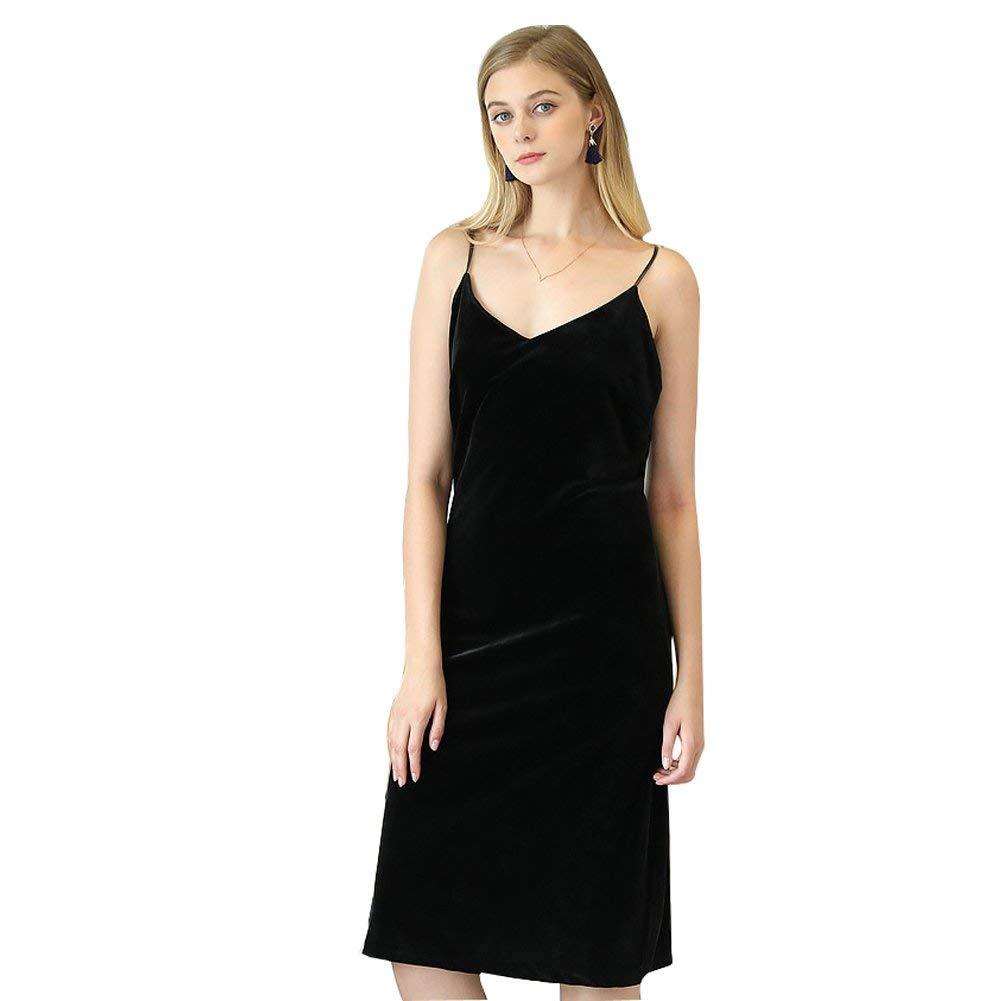 Get Quotations · SexyTown Womens Nightgowns Long Full Slip Sleepwear Warm  Soft Sleeveless Nightdress ab6466ae8