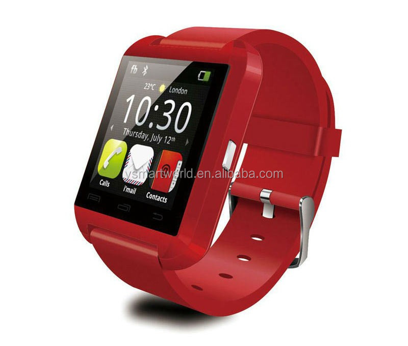 "Hot sale 1.48"" Capacitive Touch Screen TFT LCD smart watch fit sport with Pedometer fashion smart watch"