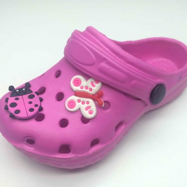 7b5c74527 One Tone Solid Design Girls and Boys Clog