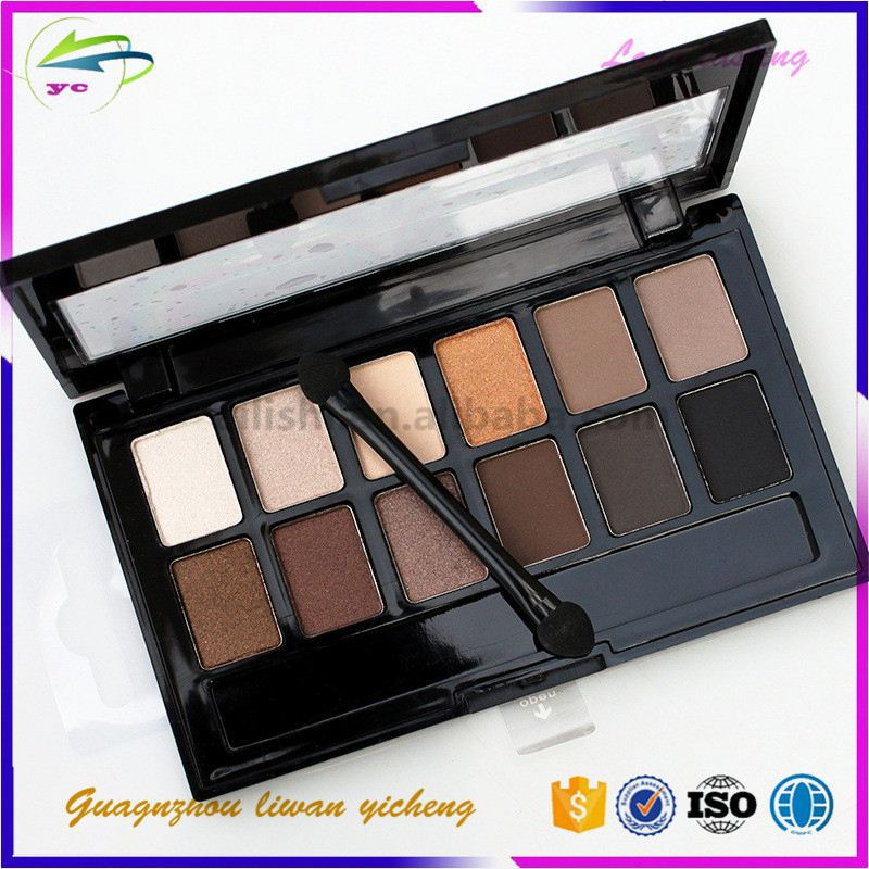 naked makeup Baked private lable eyeshadow pallette