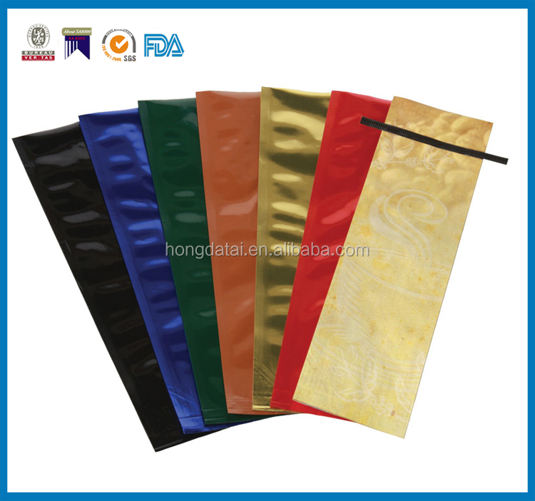 Customized Aluminum Foil malaysia coffee bags With Tin tie