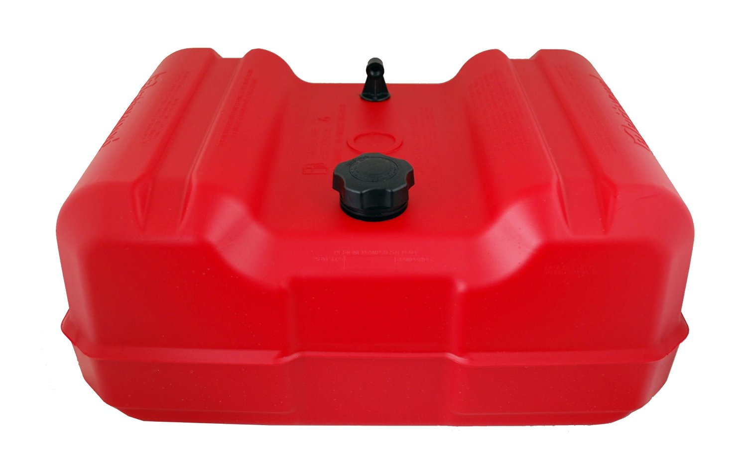 Attwood EPA Compliant Low Profile Fuel Tank without Gauge, 12-Gallon