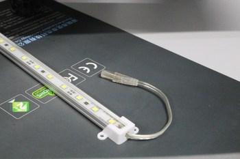 12v Led Glass Shelf Light Waterproof Shower Light
