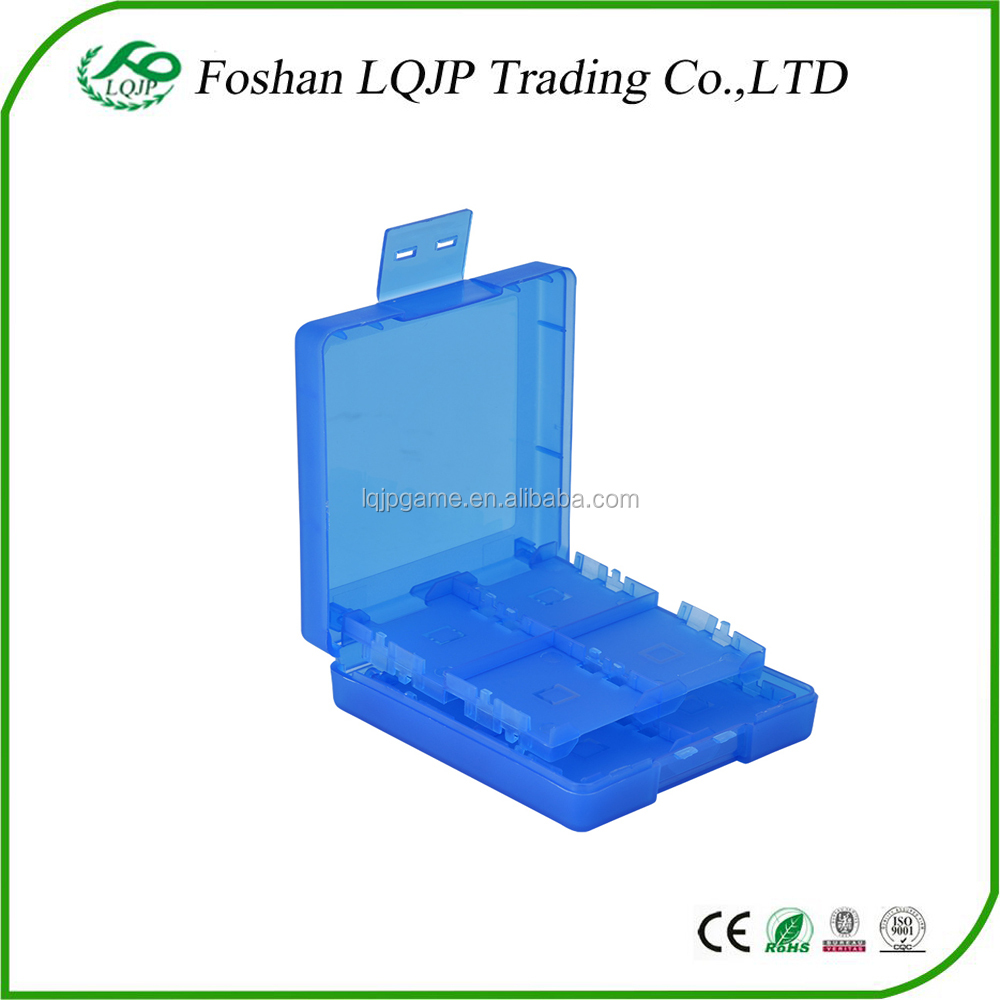 16 in 1 Blue Cartridge Storage Box for Nintendo DS/NDS/DSi/NDSi LL/2DS/3DS/new 3DS/3DS XL/new 3DS XL/LL Game Card Case Holder