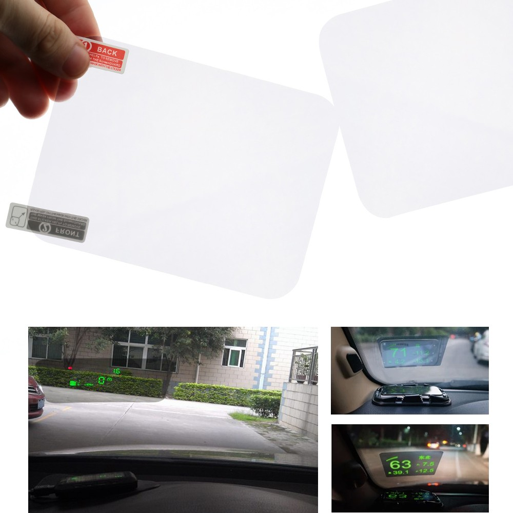 "Head Up Display HUD Film Protective Reflective Screen 5.9"" * 4.9"""