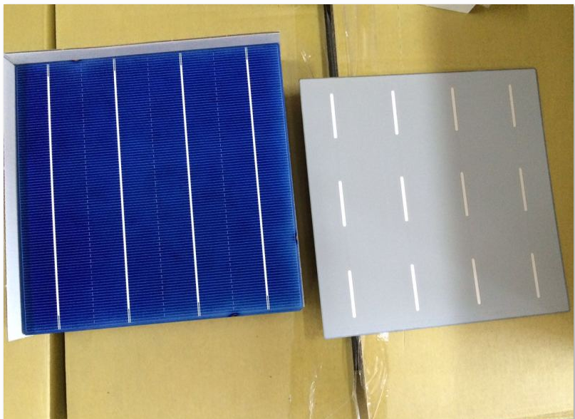 4 48w 18 4 Efficiency Nsp 4bb Poly Crystalline Solar Cell