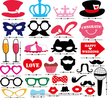 wedding decoration props photo booth for birthday anniversary party
