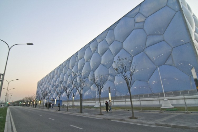 Transparent Tensile Membrane Structure Canopy Roof Etfe