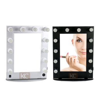 Professional Lighted Makeup Mirrorwall Mounted Mirror With Removal