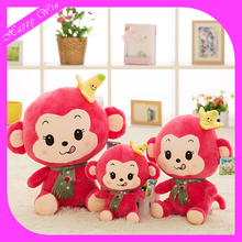 2016 High Quality Stuffed Animal Plush Toys Cute YoCi Monkey Toys For Sale