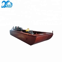 small simple portable sand pumping sucion dredger