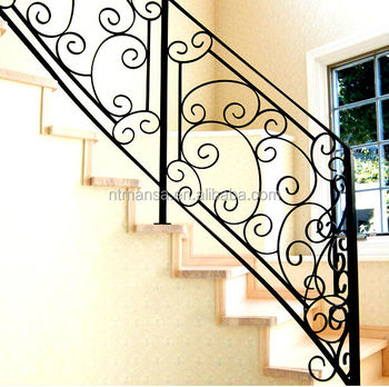 Hierro Forjado Barandas Para Escaleras Interiores/decorativo ...