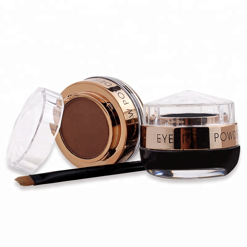 Eye Makeup 2 in1 Waterproof Eyebrow Powder with eyeliner