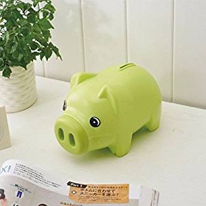 Money Boxes Cute Plastic Piggy Bank Saving Cash Coin Money Box Children Toy Kids Gifts Home Collection