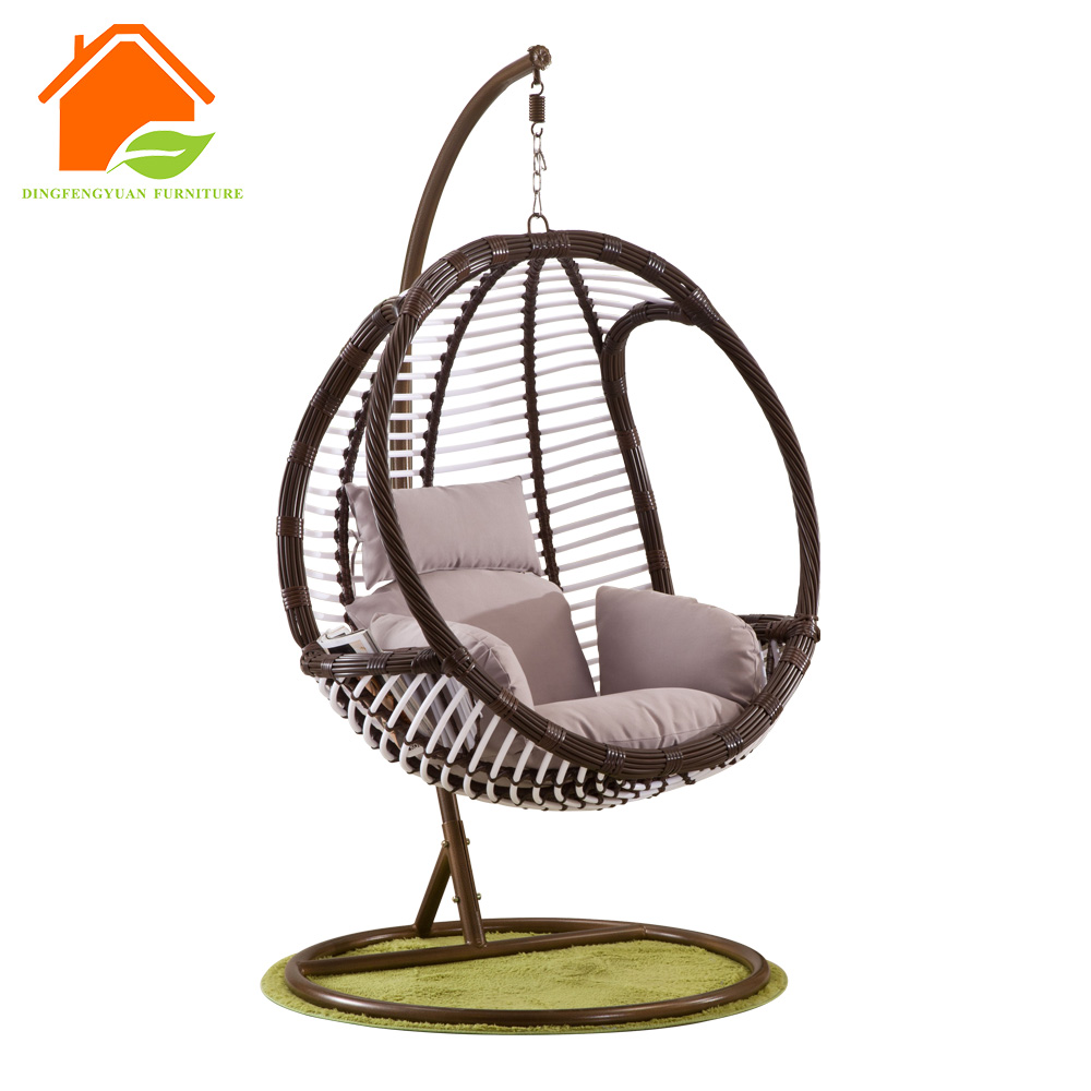 Indoor Hanging Chair Patio Furniutre Double 2 Seater