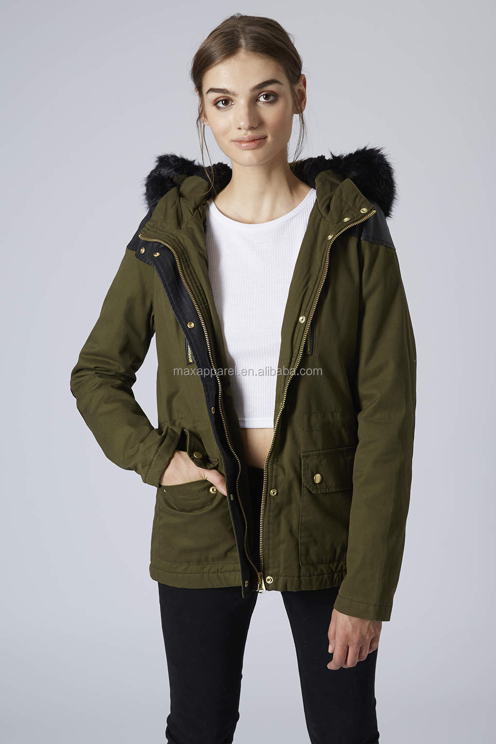 Ladies Short Parka Jackets | Jackets Review