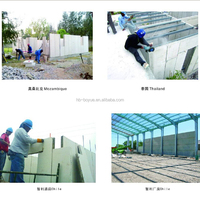 supermarket lightweight concrete partition eps sandwich wall slab