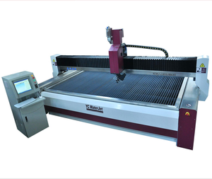 YC CNC 5 axis Waterjet cutting machine, 45 degrees