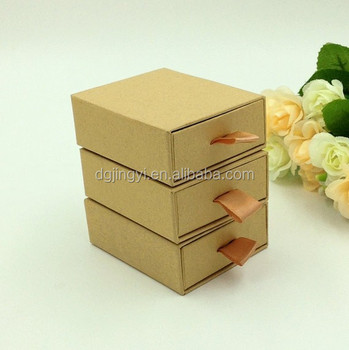 Customized Material And Food Industrial Use Paper Draw Gift Box