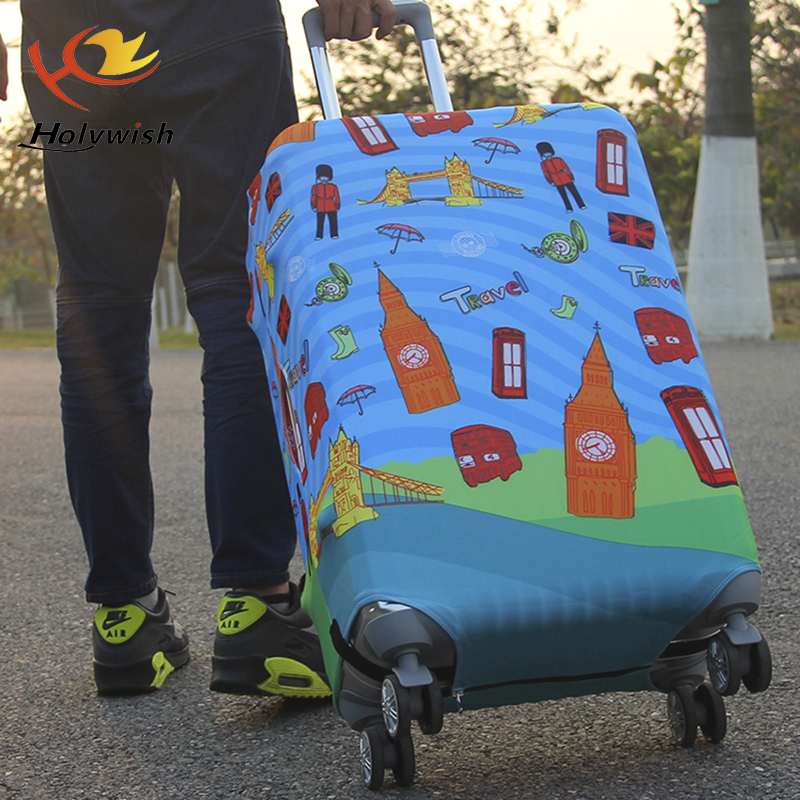 20 inch waterproof and dustproof cover for plastic suitcase cover