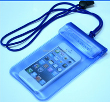 Customize Clear PVC Waterproof Bag for Cell Phone