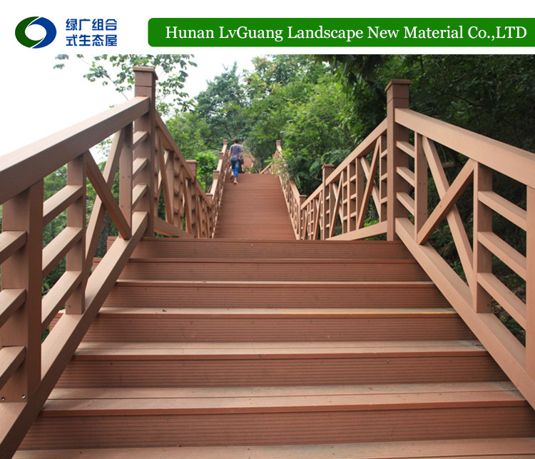 Outdoor Railing WPC Wood Composite Fence
