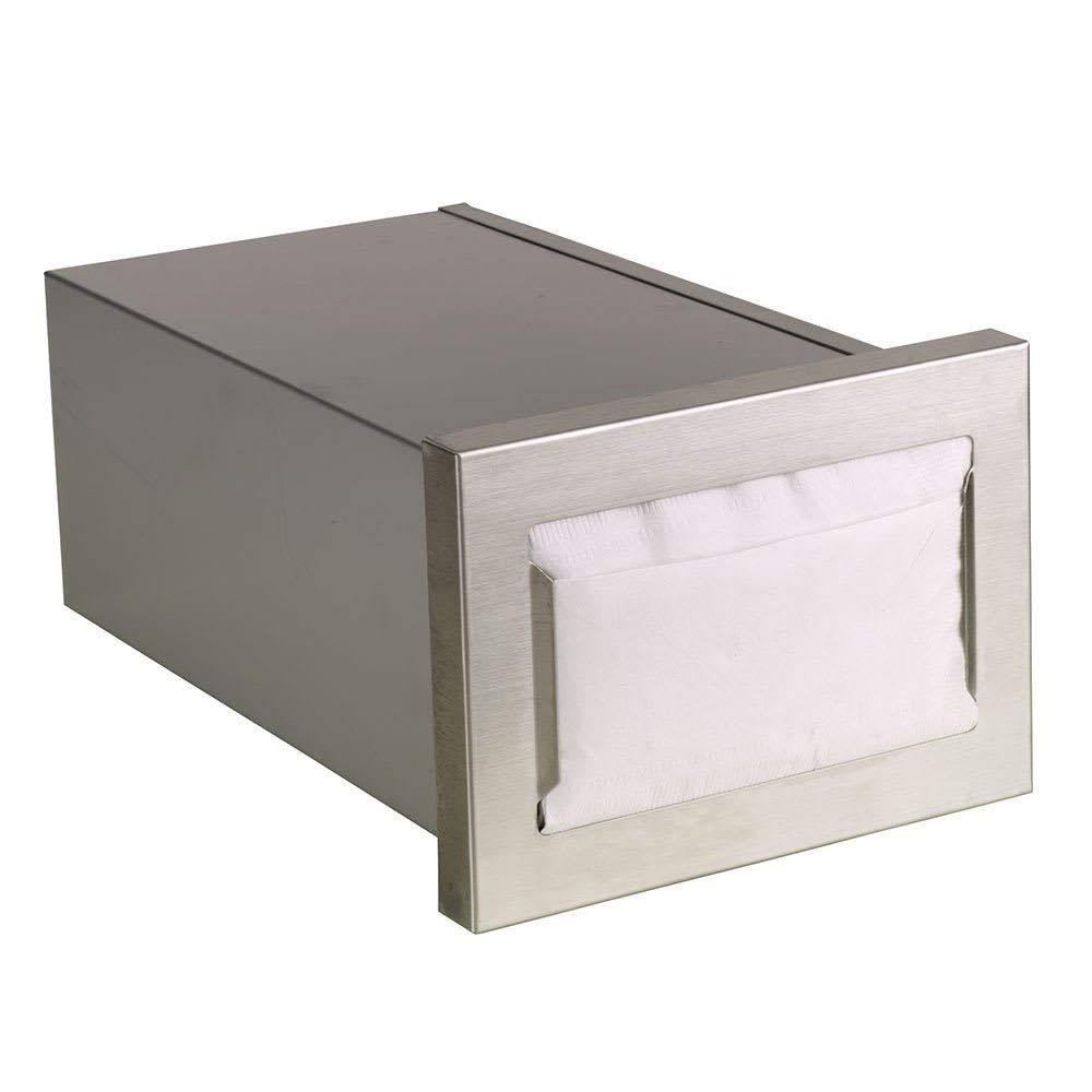 "TableTop King CMND1 Napkin Dispenser, Built-In, Holds 4-1/2 to 5"" X 6-1/2"" Napkins, Horizontal"
