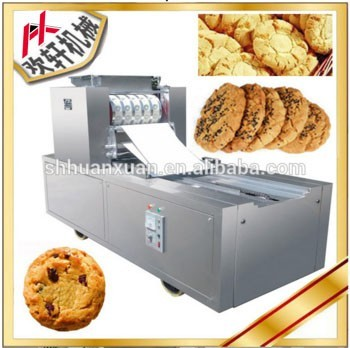 gold supplier china many shapes cookies biscuits forming equipment professional walnut shape maker