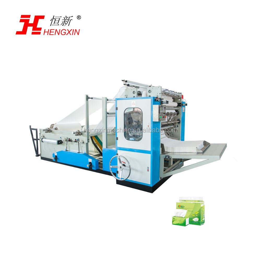 HENGXIN 4lane Soft Towel Facial Tissue Paper Making Machine/ facial tissue Production Line