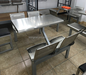 2017 modern fast food chairs /tables canteen furniture